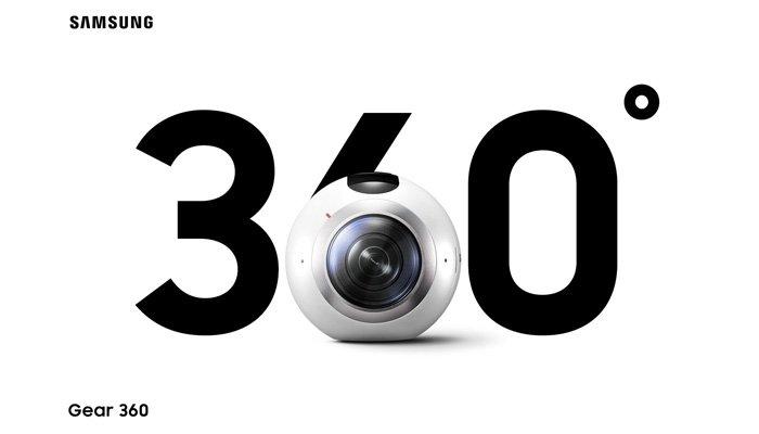 Samsung'un 360 Derecelik Kamerası Gear 360'ın Fiyatı Belli Oldu!