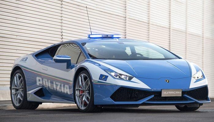 Dünyanın En Hızlı Polis Arabaları