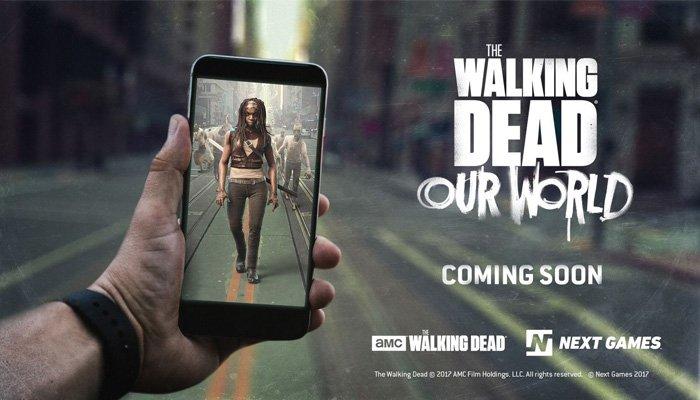 Pokemon Go'ya Yeni Rakip: Walking Dead'in Zombileri