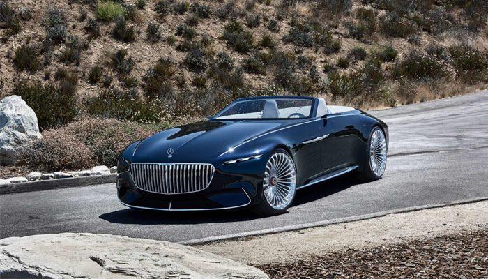 Kusursuzluğun Adı : Mercedes-Maybach Vision 6 Cabriolet