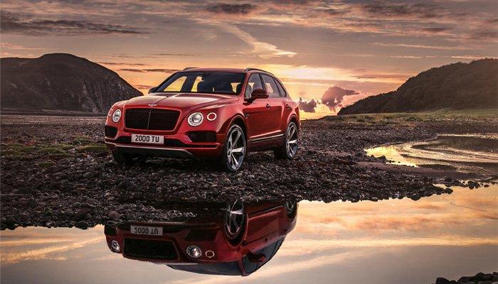 Yeni Bentley Bentayga V8
