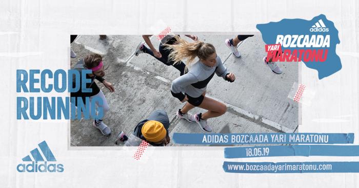 Adidas'ın #RecodeRunning felsefesiyle Bozcaada Yarı Maratonu yeniden kodlanıyor