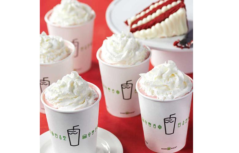 Shake Shack'ten Yaza Özel Milkshake: Red Velvet